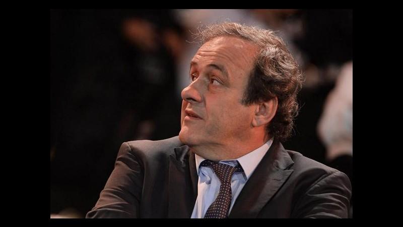 Caso Fifa, Platini non rischia sanzioni per presenza a Globe Soccer