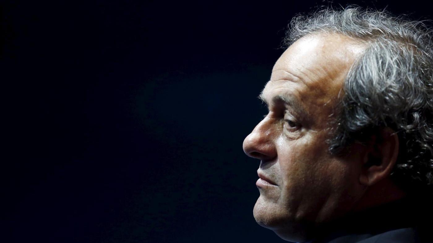 Michel Platini si ritira da corsa alla presidenza Fifa
