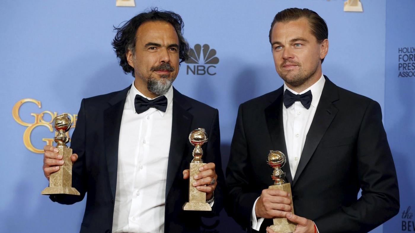 Golden Globe, 'Revenant' miglior film, regia e protagonista