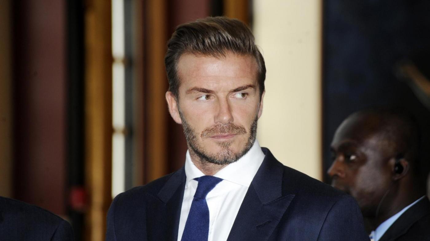 David Beckham premiato dall'Unicef per suo impegno