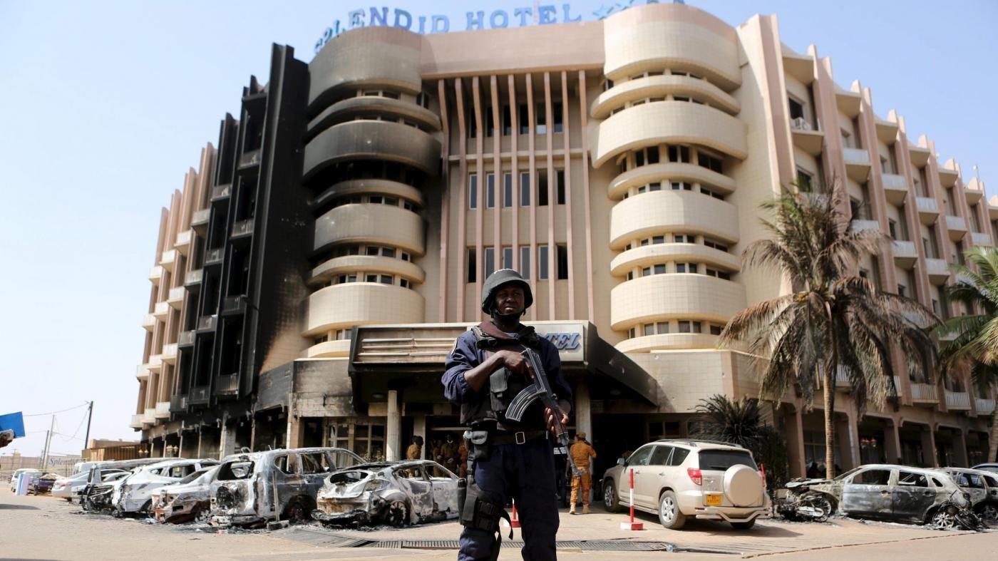Burkina Faso, assalto al-Qaeda a hotel: bimbo italiano tra i morti