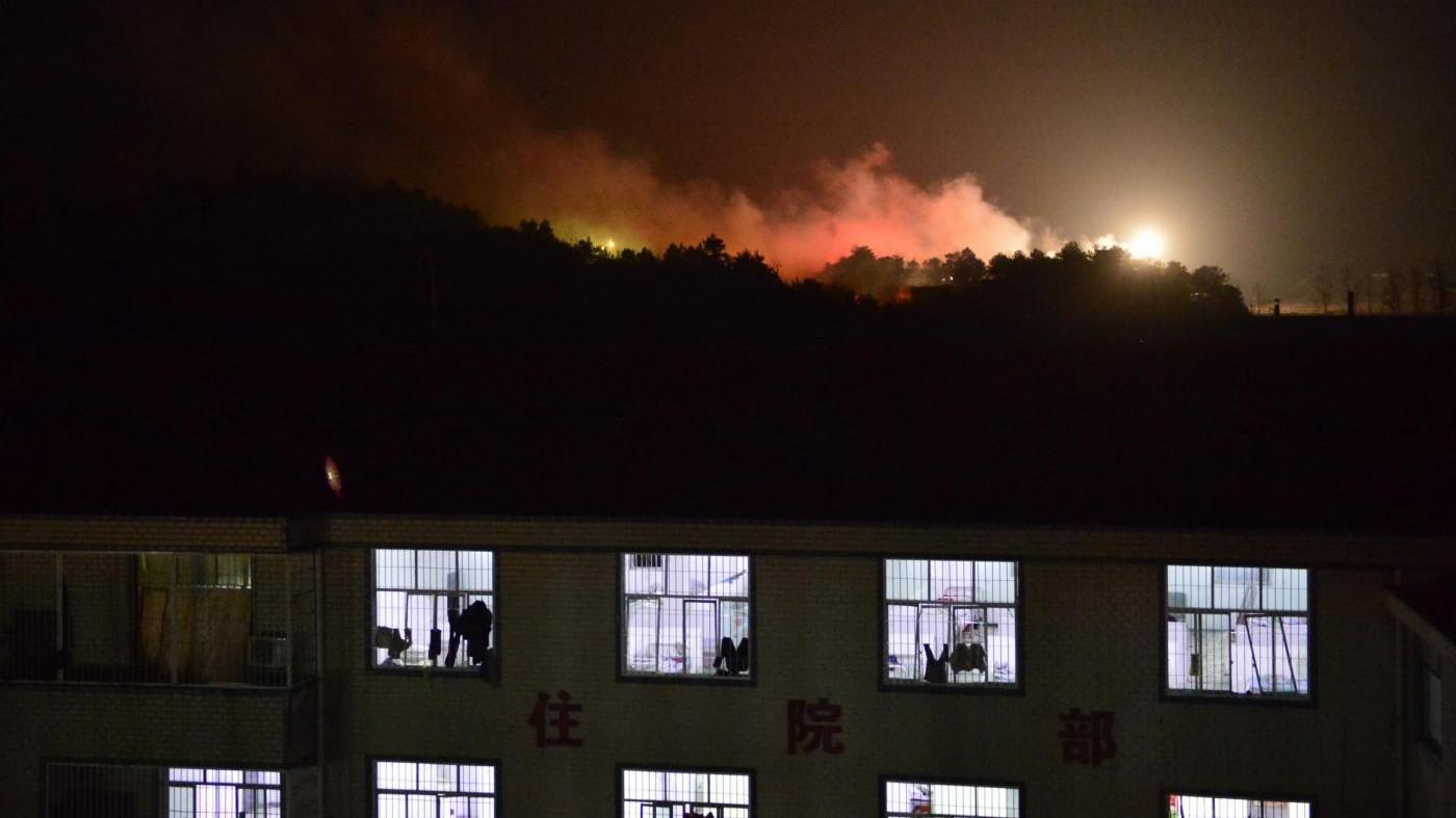 Cina, esplosioni in fabbrica fuochi artificio: tre morti, 53 feriti