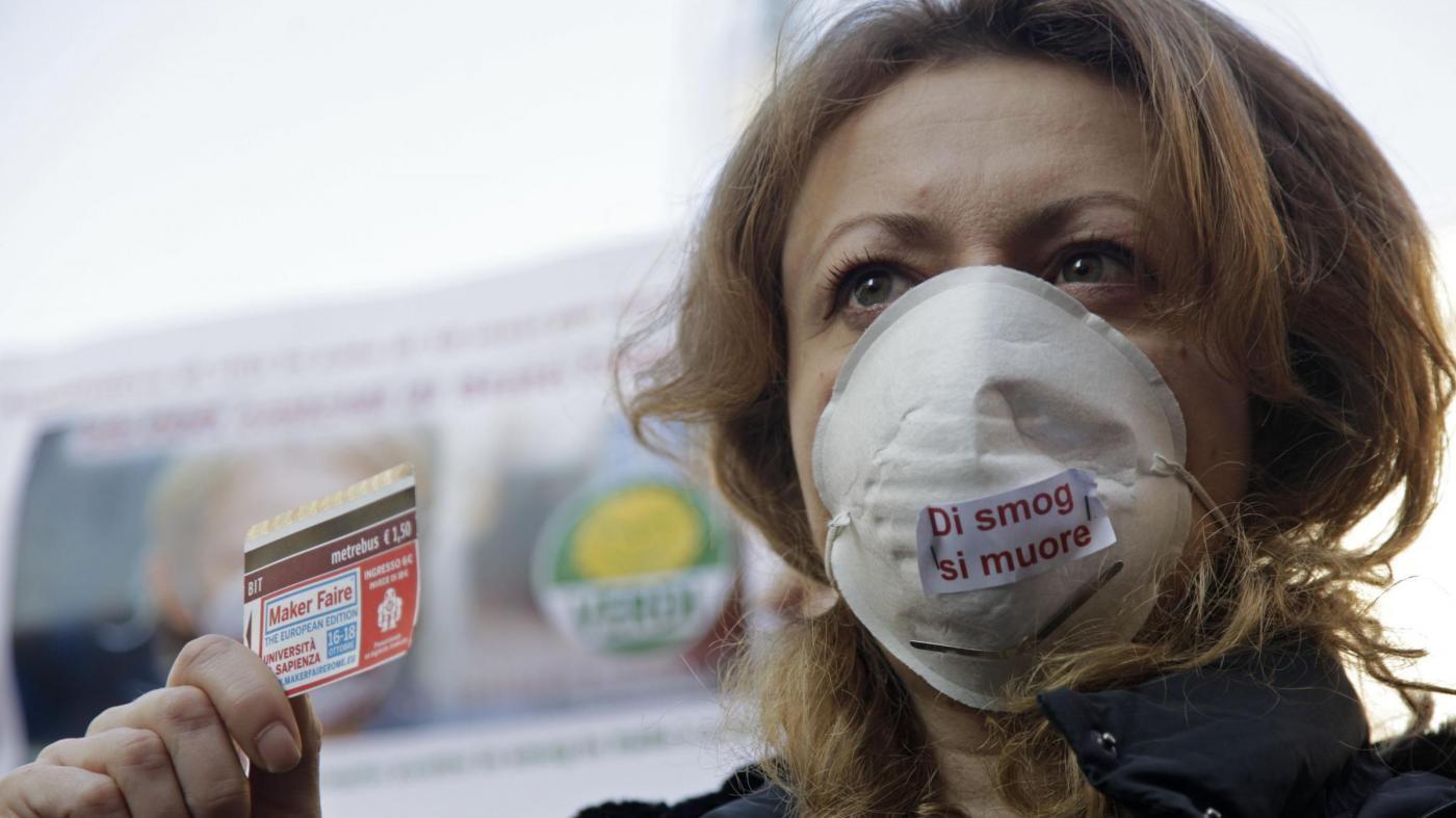 Smog,  a Roma superato limite Pm10 anche con targhe alterne