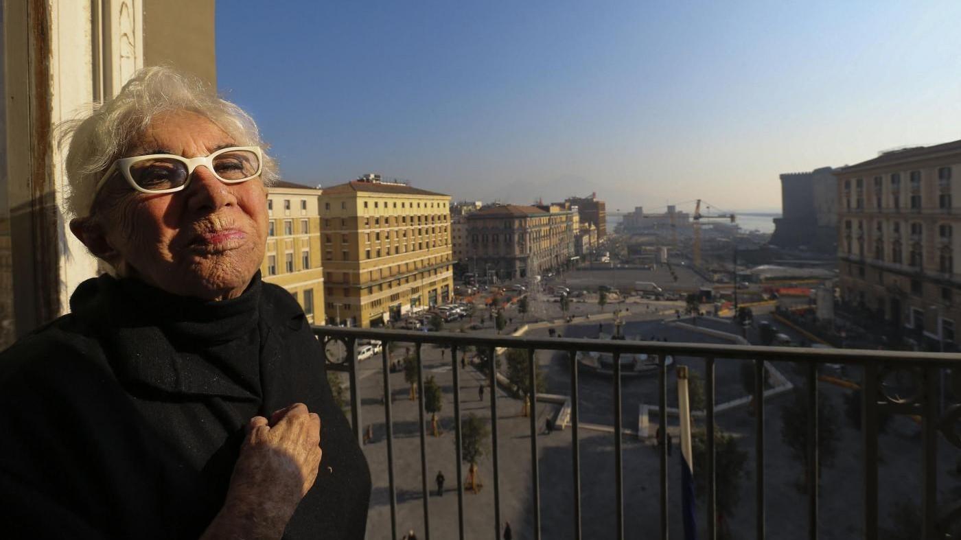 Napoli, cittadinanza onoraria a Lina Wertmuller