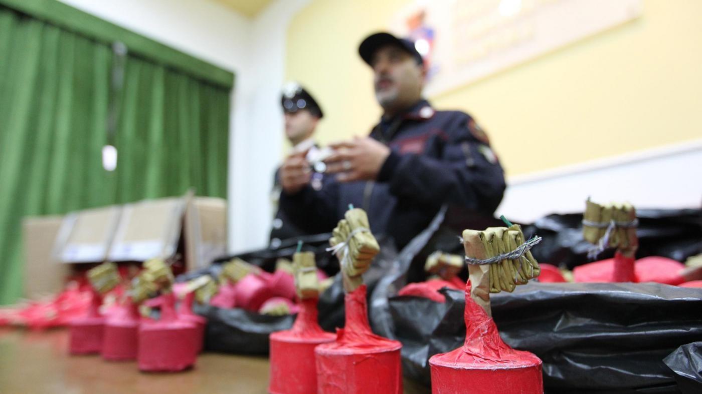 Napoli, sequestrati 15 quintali di 'botti': arrestato 55enne