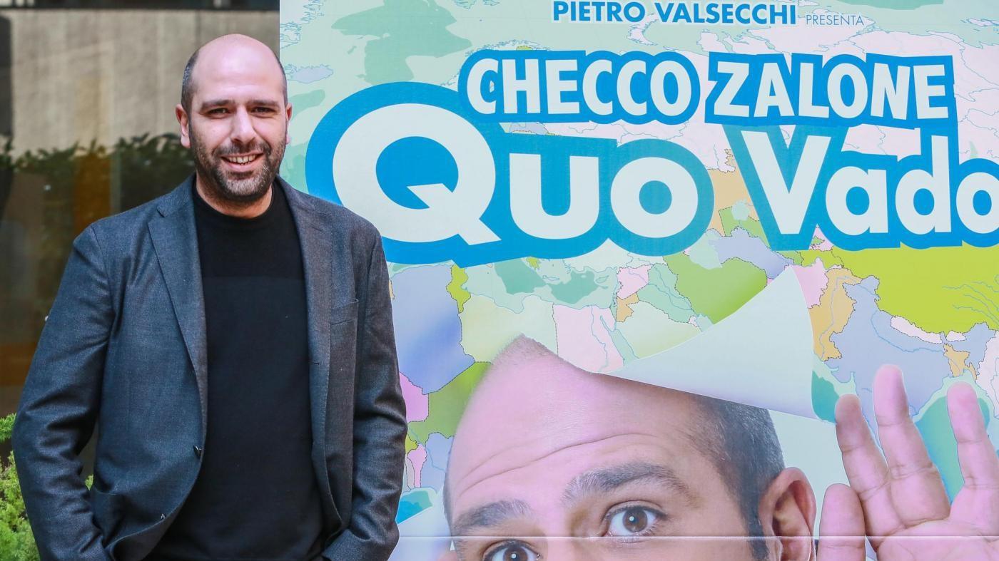 Checco Zalone da record: 7 milioni in un solo giorno per 'Quo Vado?'