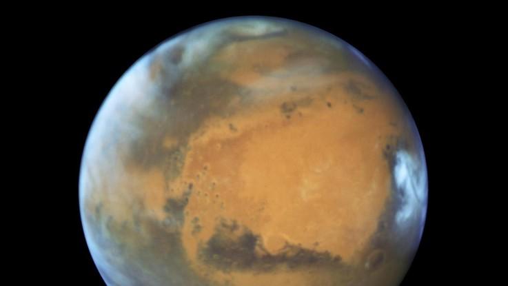 Spazio, team italiano scopre acqua su Marte: è salata e sotterranea