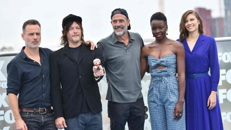 """Andrew Lincoln lascia """"The Walking Dead"""": la dedica d'amore di Jeffrey Dean Morgan"""