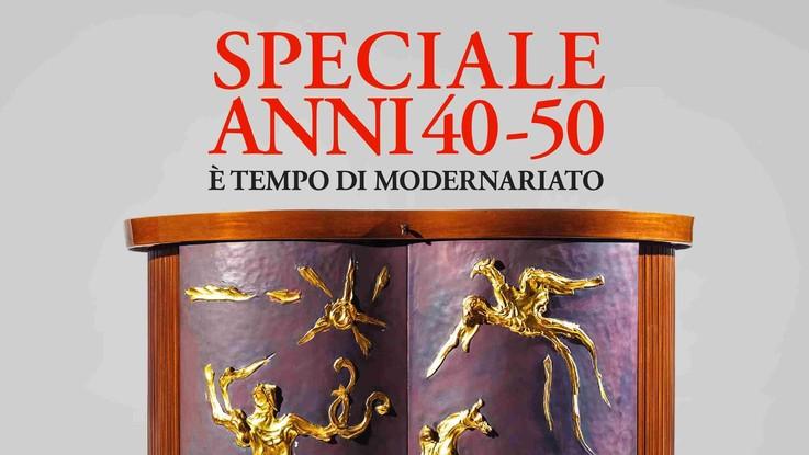 Antiquariato, in edicola il numero di agosto interamente dedicato gli anni '40 e '50