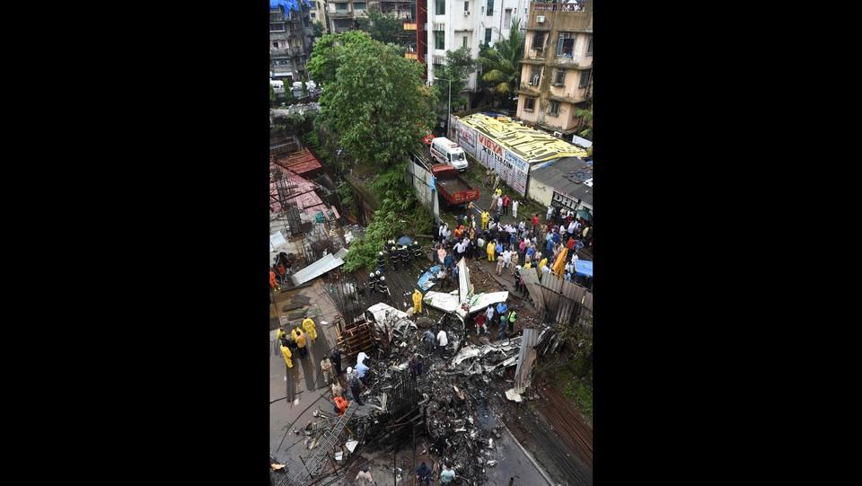 India, piccolo charter precipita a Mumbai ©AFP/LaPresse