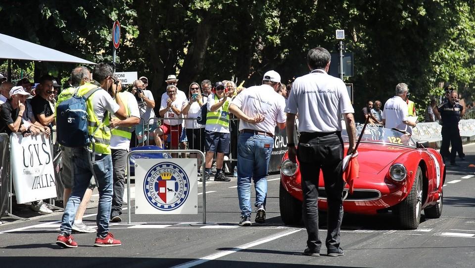 """FCA Heritage protagonista al """"Vernasca Silver Flag"""" ©LaPresse/Ermes Beltrami"""