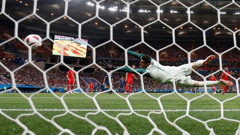 7' del secondo tempo, il Giappone raddoppia: il gol è di Inui ©AFP/LaPresse