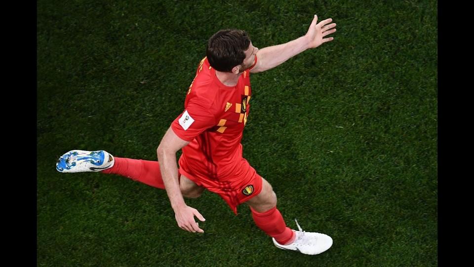 Vertonghen esulta dopo il gol ©AFP/LaPresse
