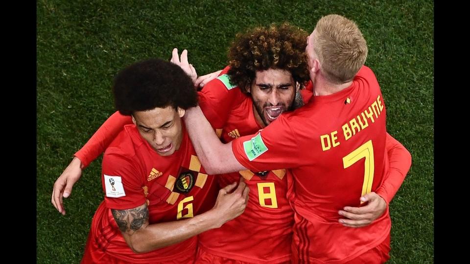 La goia del Belgio che torna in partita ©AFP/LaPresse