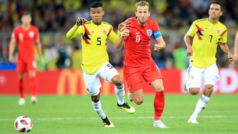 Mondiali 2018, Colombia vs Inghilterra ©PA/Lapresse