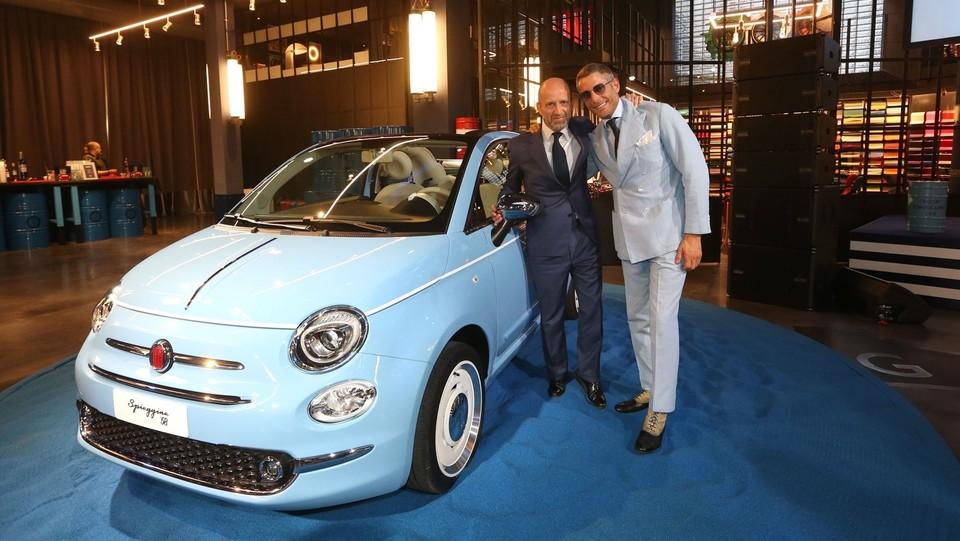 Fiat 500 Spiaggina, un compleanano speciale ©LaPresse/Stefano Porta