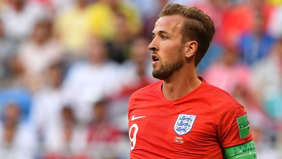 L'attaccante dell'Inghilterra Harry Kane ©AFP/LaPresse