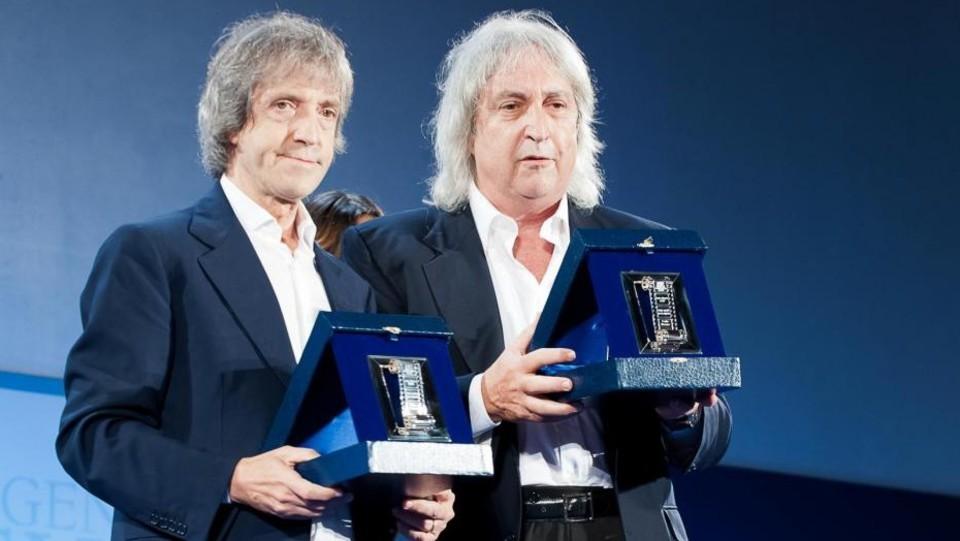 Enrico e Carlo Vanzina premiati ai Nastri d'argento 2012 ©Salvatore Fiorenza