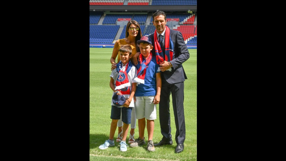 Gianluigi Buffon ha firmato per il Paris Saint Germain ©ABACAPRESS/LaPresse