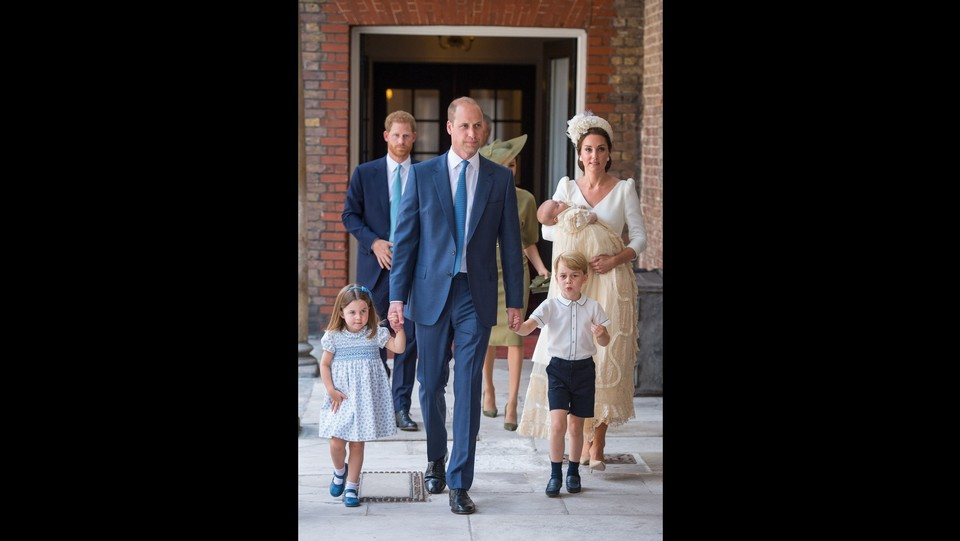 Londra, il battesimo del principe Louis a St James's Palace ©PA/Lapresse