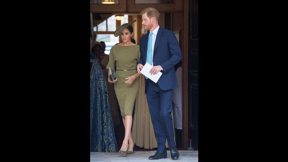 Il duca e la duchessa di Sussex, Harry e Meghan ©PA/Lapresse