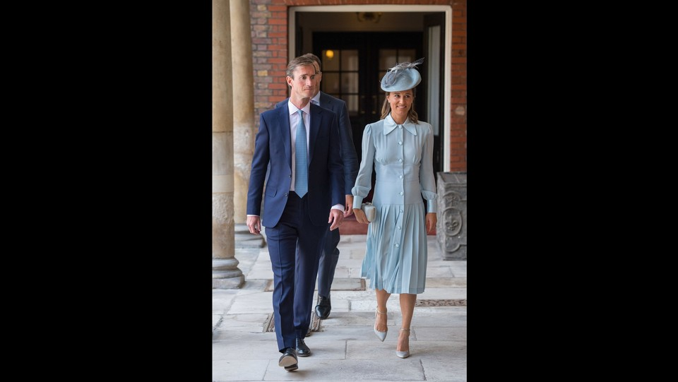 Pippa Middleton e suo marito James Matthews ©PA/Lapresse