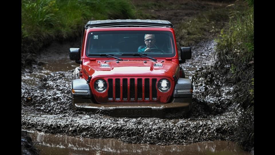 Camp Jeep 2018 - Test drive off road Jeep Wrangler ©Piero Cruciatti/LaPresse