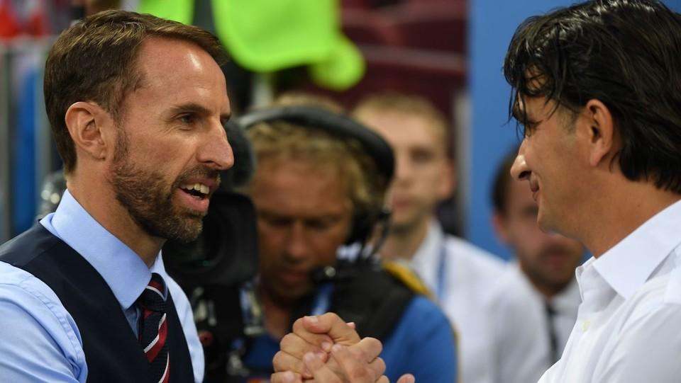 I coach Zlatko Dalic e Gareth Southgate ©AFP/LaPresse