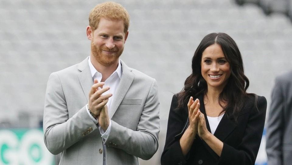 Principe Harry e Meghan visitano il Croke Park a Dublino ©Backgrid_UK