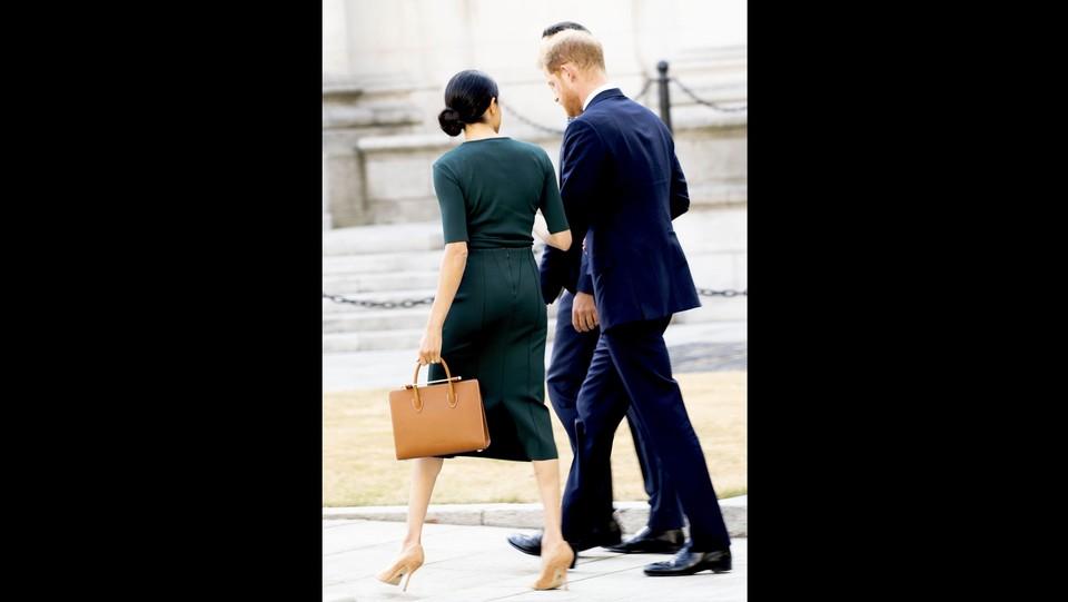 Meghan e Principe Harry a Dublino il 1° giorno della visita di 2 giorni in Irlanda. ©ddp