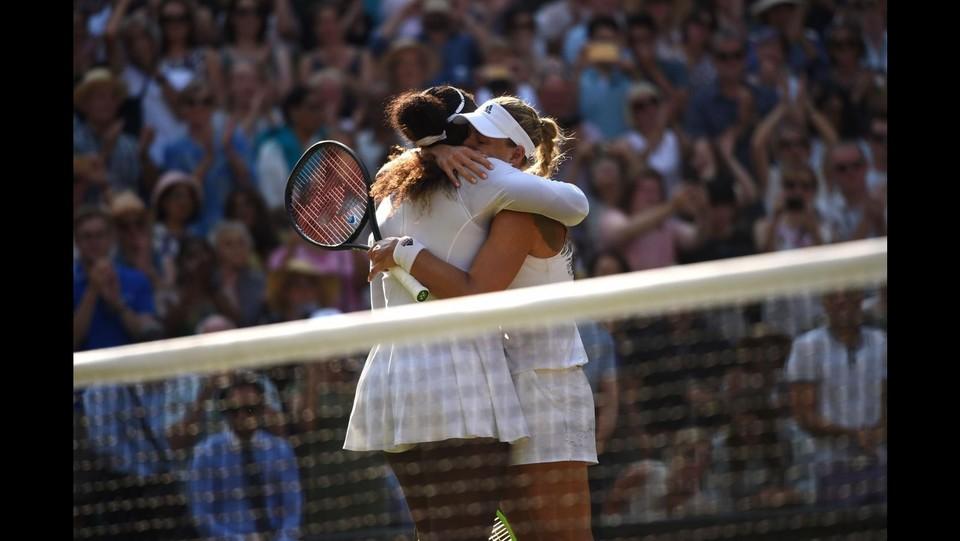 Tennis Wimbledon, Serena Williams vs Angelique Kerber -Finale femminilie ©AFP/LaPresse