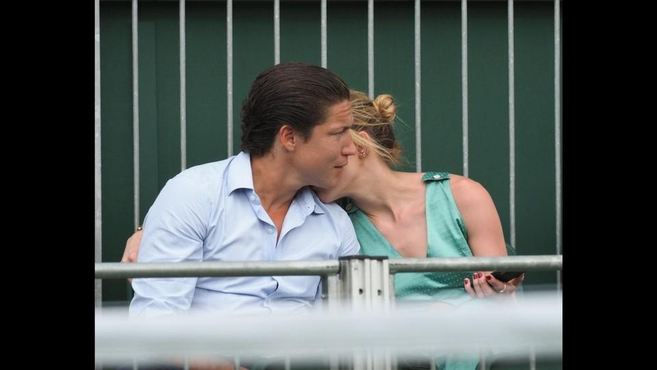 Amber Heard e Vito Schnabel a Wimbledon ©Backgrid/LaPresse