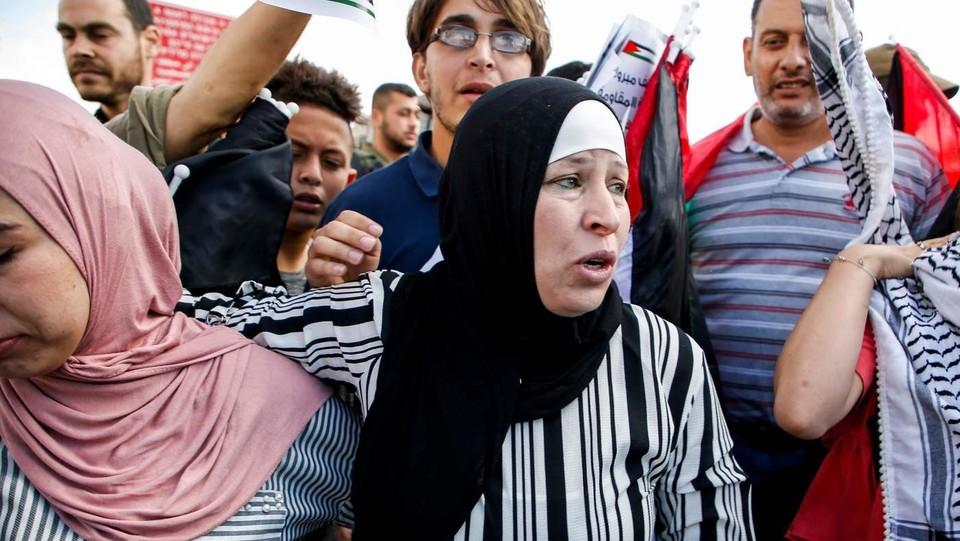 Nariman, la mamma di Ahed ©AFP/LaPresse