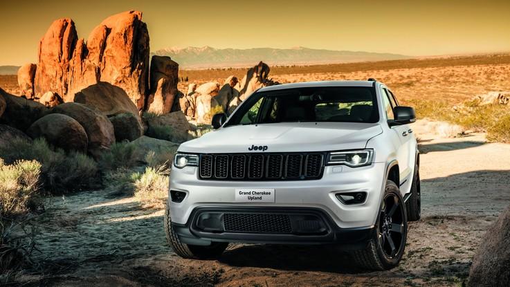 Jeep, nuova Grand Cherokee Upland al debutto