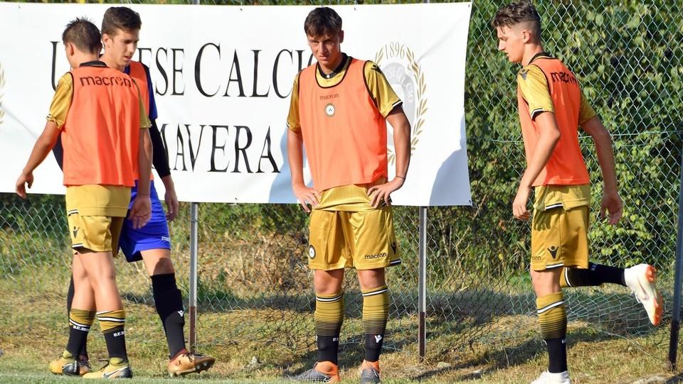 Renzi con i compagni di squadra ©Diego Petrussi/LaPresse
