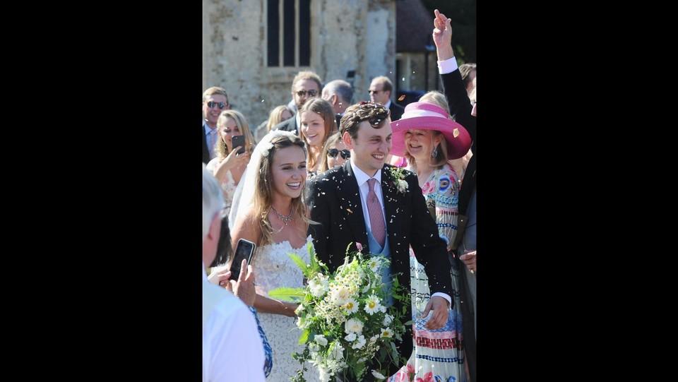 Matrimonio di Charlie Van Straubenzee e Daisy Jenks ©Backgrid Uk/LaPresse