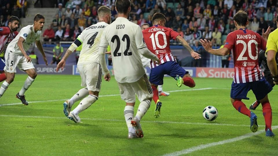 Il gol del 2-2 di Diego Costa ©AFP/LaPresse
