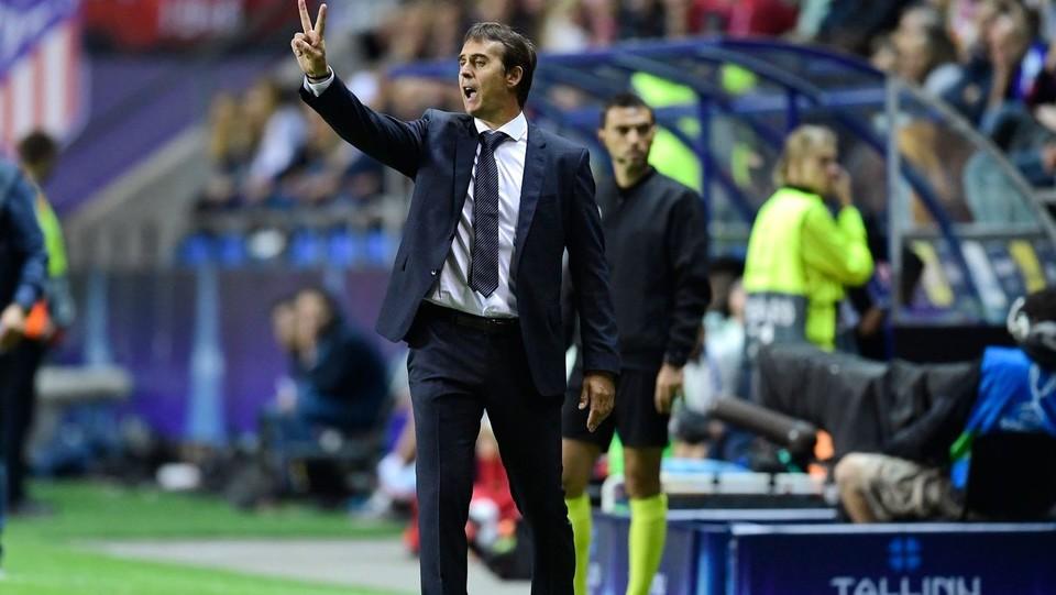 Julien Lpetegui, allenatore del Real ©AFP/LaPresse