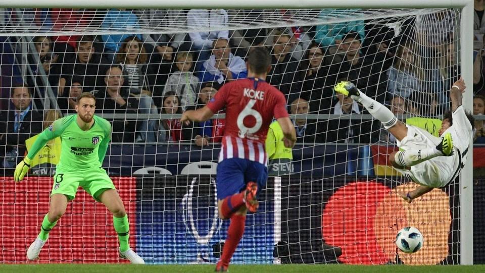 Marcelo, all'ultimo secondo dei 90' regolamentari, si mangia il gol della vittoria ©AFP/LaPresse