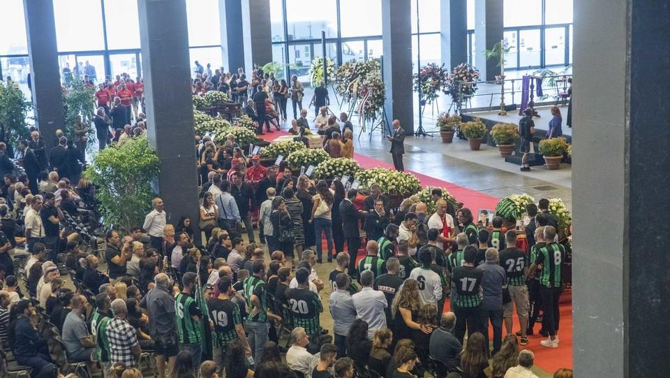 I funerali solenni per le vittime ©Mauro Ujetto/LaPresse