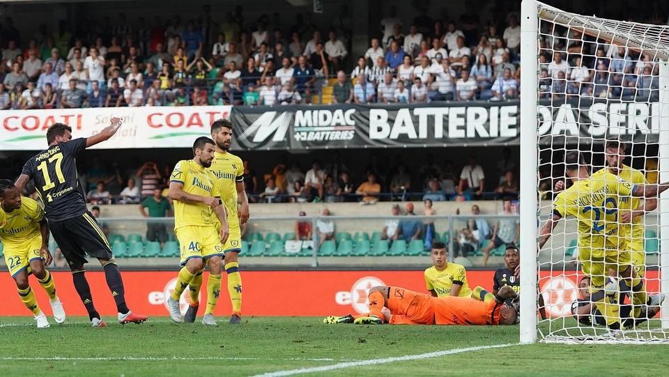 Il gol annullato di Mandzukic ©Spada/LaPresse