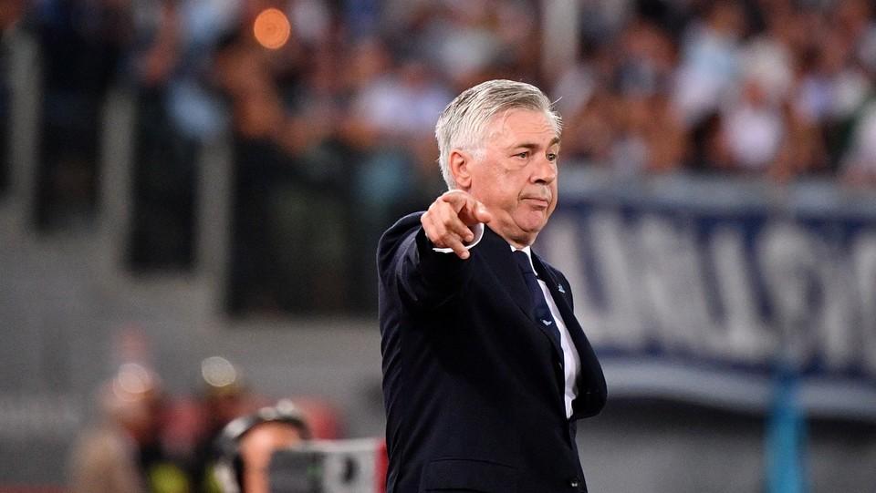 Il mister Ancelotti ©Alfredo Falcone/LaPresse