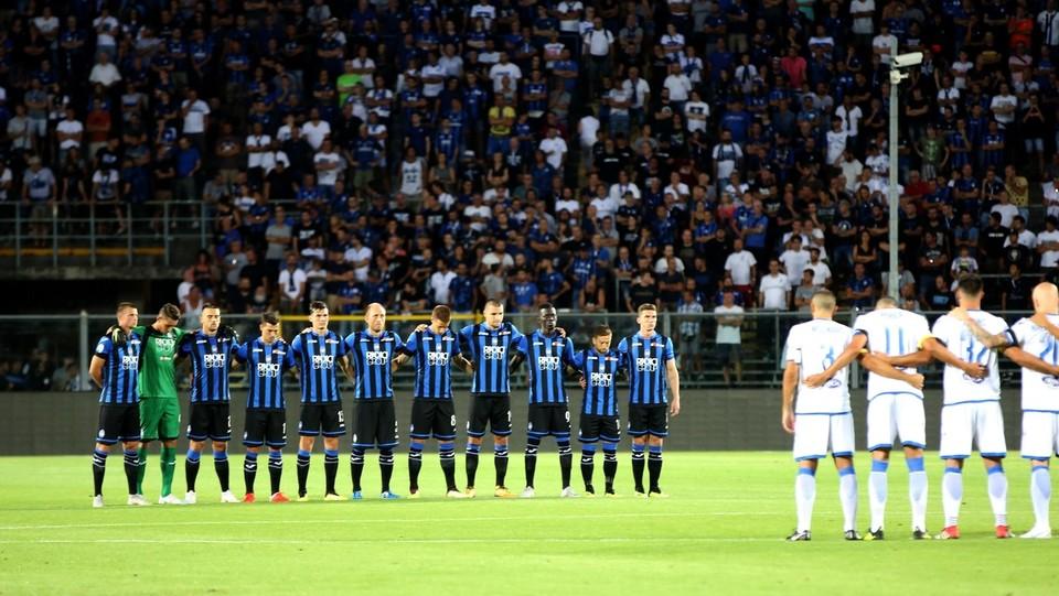 Il minuto di silenzio per le vittime di Genova ©Mauro Locatelli/LaPresse