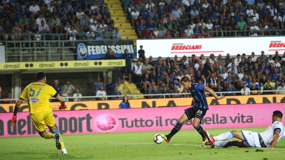 Pasalic segna il gol del 3-0 ©Mauro Locatelli/LaPresse