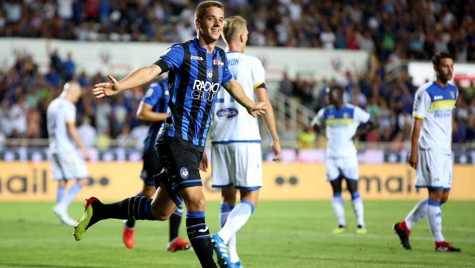 Pasalic dopo il gol del 3-0 ©Mauro Locatelli/LaPresse