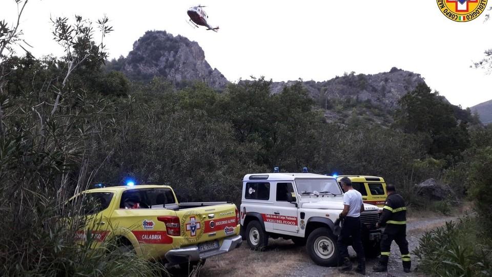 Calabria, piena improvvisa del torrente Raganello nel Parco del Pollino: vittime ©Ufficio Stampa Soccroso Alpino/LaPresse