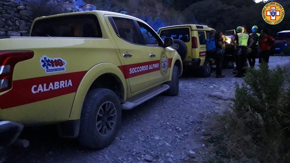 Il soccorso alpino sul posto ©Ufficio Stampa Soccroso Alpino/LaPresse