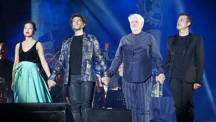 Max Gazzè, in 4mila a Caracalla per la prima di 'Alchemaya Tour'