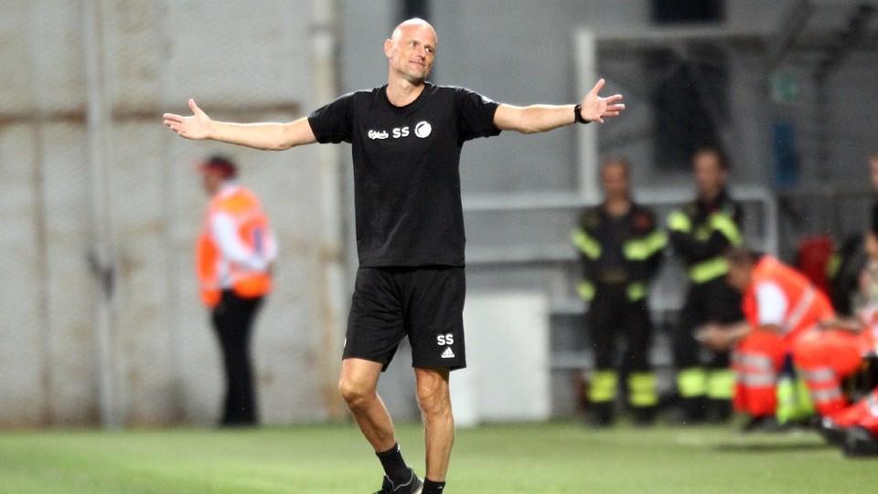 Solbakken, allenatore dei danesi ©Moro Francesco/LaPresse