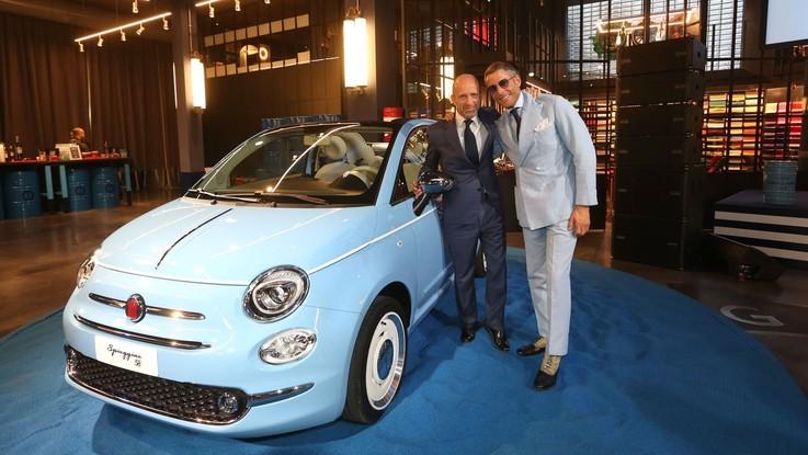 """Fca, la """"Spiaggina '58"""" è il tributo speciale dedicato al compleanno di Fiat 500"""